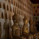 Buddha statues and niches at Wat Sisaket.