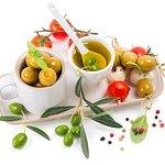 sark meze grill Olives