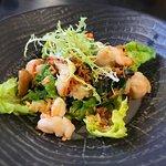 Asian shrimp salad by Jeremiah Christopher