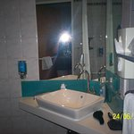 sink area within wet room/bathroom