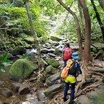 Trekking to Pinaisara Waterfall.