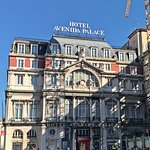 Front of the Avenida Palace Hotel, Lisbon, by Jeremiah Christopher