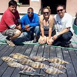 had a blast fishing with Pat, Josh, Chelsey, and Sebastian