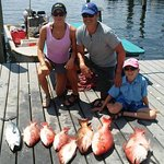opening day for 2018 Snapper season