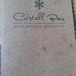 Фотография Cristall Bar Mountain Bistrot