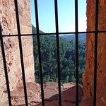 Vista desde una de las ventanas del castillo
