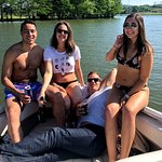 Party on Cobalt Boat Rental Lake Austin