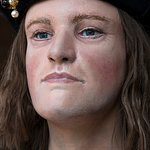 Once the reconstruction was complete, the face of King Richard III was revealed...