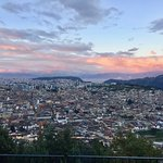 Sunset view of Quito!