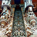 Beautiful intricate Wooden work