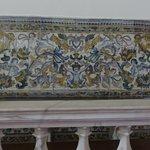 Beautiful colorful tile work