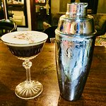 Cold cafe martini