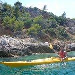 Nice kayaking
