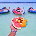 Fruit on a hot day on the water? Yes Please!