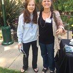 TV-Radio Lynn Harper and Artist Julie Ann Stricklin San Diego Botanic Garden SDBGGarden.org