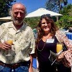 Sculptor Danny Salzhandler & Artsist Julie Ann Stricklin San Diego Botanic Garden SDBGGarden.org