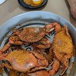 Mug and Mallet hard shell crabs