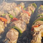 Greek Souvlaki with our famous herbs and spices