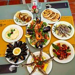 Some Seafood meze