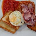 The big breakfast minus the black pudding