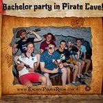 Bachelor party in Pirate Cave!