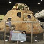 The actual Apollo 15 Command Module Endeavour