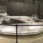 Avro Cabada VZ-9AV Avrocar. It wobbled like a hubcap the feel off a car.
