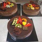Mousse de xocolata amb interior de tofee