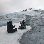 Glacier lunch