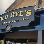 Wild Rye's is on the lhs of the main street if heading north.