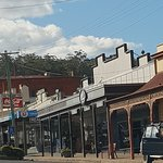 Part of the Pambula streetscape.