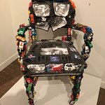Gallery 4: Interesting chair made of cars.
