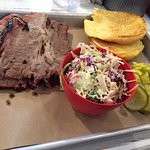 Brisket and slaw
