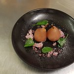 Poached Pear