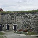 Memorial to Norwegian resistance at Kristiansten Fortress