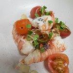 Moreton Bay Bugs, tomato, basil