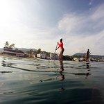 Tour de Paddleboard en el malecón de Puerto Vallarta, Jal.