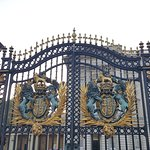Ornate gates to the palace