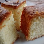 Butter vanilla cake an in-house speciality baked fresh every day