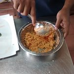 Polsambol prepared by chef  at our request. It was delicious and vegetarian