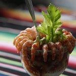 Coctel de camarón / Shrimp cocktail