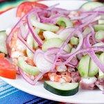 Ceviche de camarón / Shrimp ceviche