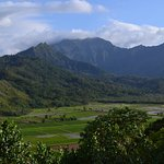View from Hanalei Valley Lookout, Kaua'i