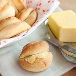 Buttery Dinner Parkerhouse Rolls