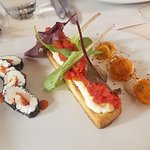 Goat cheese trilogy