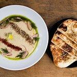 Flatbread and Hummus