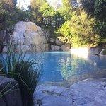 The waterfall pool, Wairakei Terraces