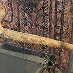 A shofar (Ram's horn).