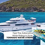 Tornado can pick you up from your Yacht!!!