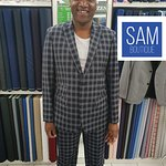 Custom made suits by Sam Boutique